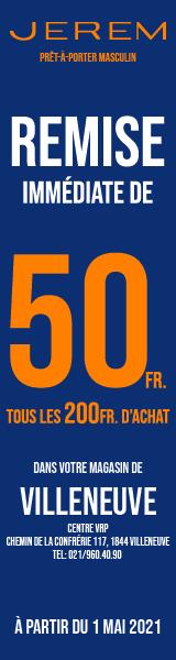 50 CHF Jerem Villeneuve